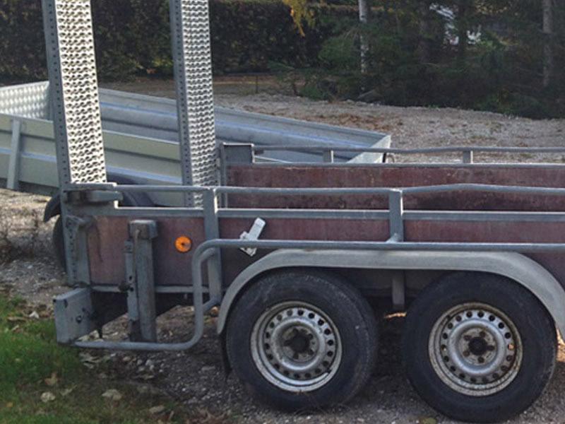 Brugt Hapert K2700 Maskintrailer // SOLGT