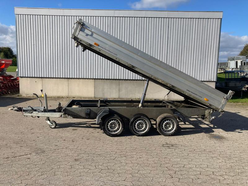 Brugt Humbaur HTK 3500 – 3-akslet Tiptrailer // SOLGT