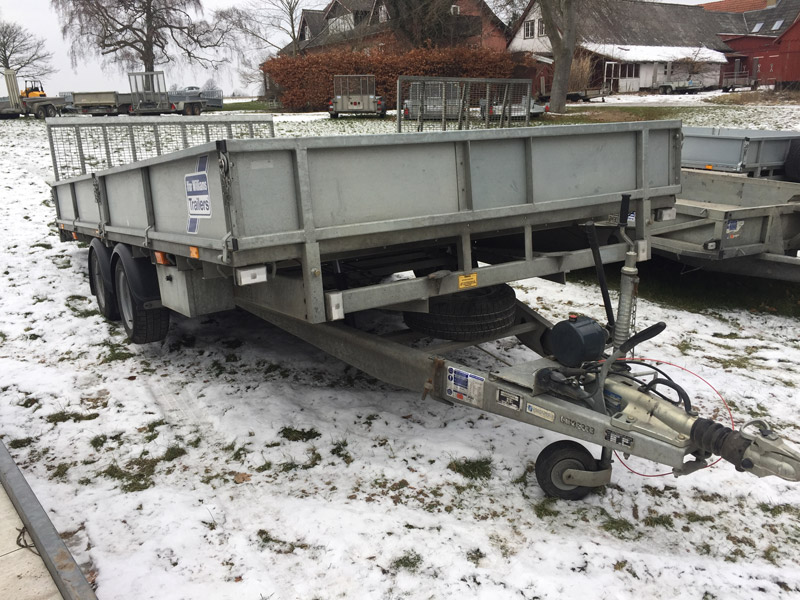 Brugt Ifor Williams CT167 Vippeladstrailer // SOLGT