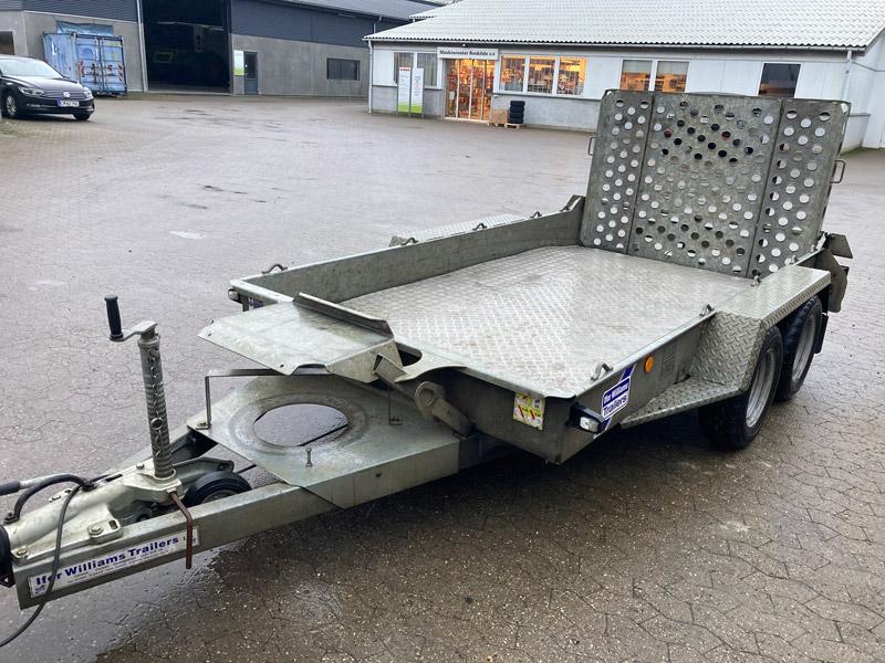 Brugt Ifor Williams GH1054BT-R Maskintrailer // SOLGT