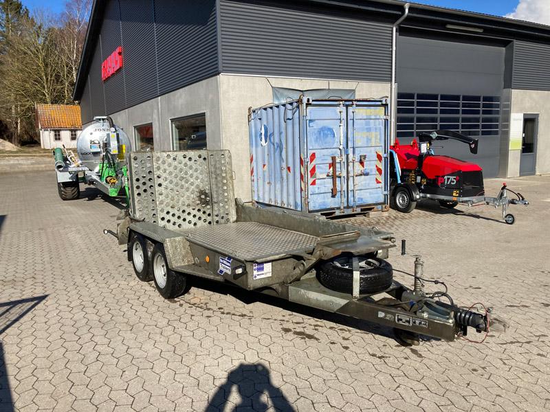 Brugt Ifor Williams GH1054BT-R Maskintrailer