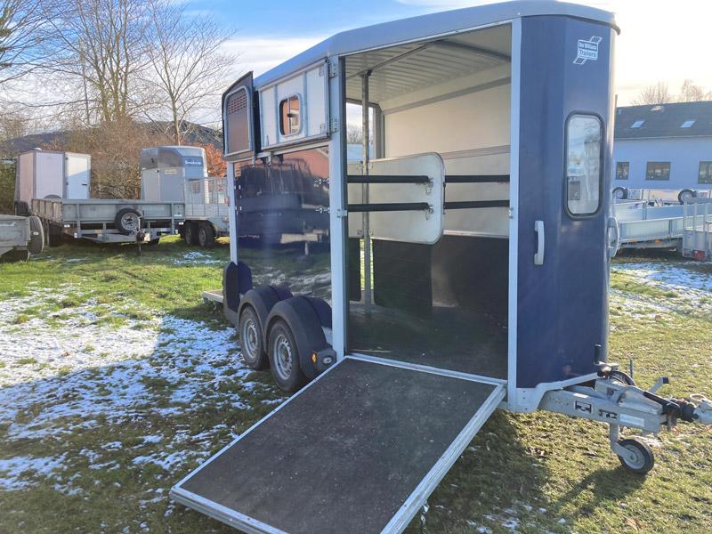 Brugt Ifor Williams HB511 Hestetrailer // SOLGT