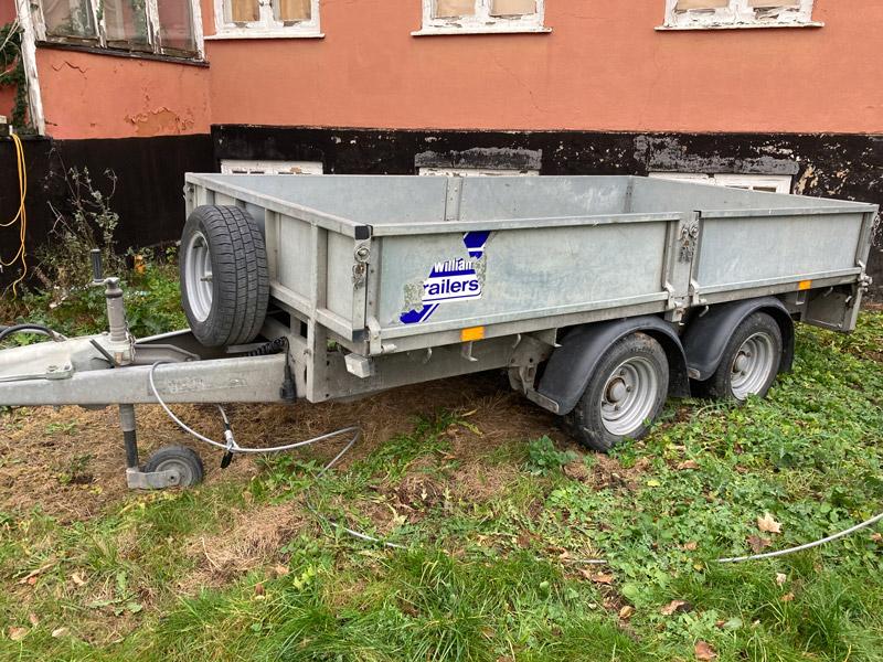 Brugt Ifor Williams LM105 Ladtrailer // SOLGT
