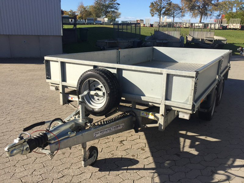 Brugt Ifor Williams LM126 Ladtrailer // SOLGT