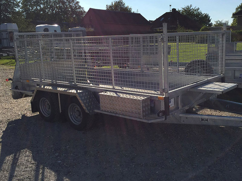 Demo Ifor Williams GP126 Maskintrailer // SOLGT