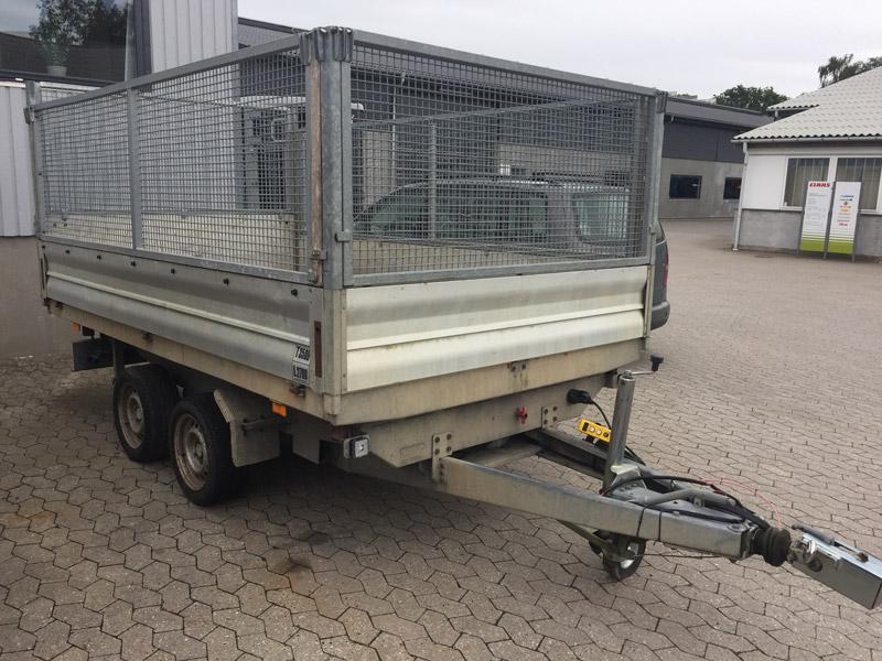 Brugt Selandia 3-vejs Tiptrailer // SOLGT