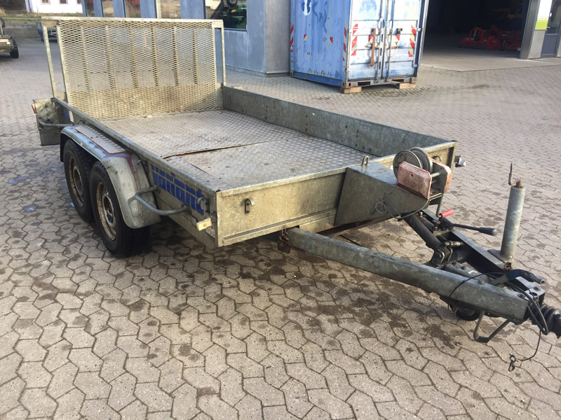 Brugt Variant Vippeladstrailer // SOLGT