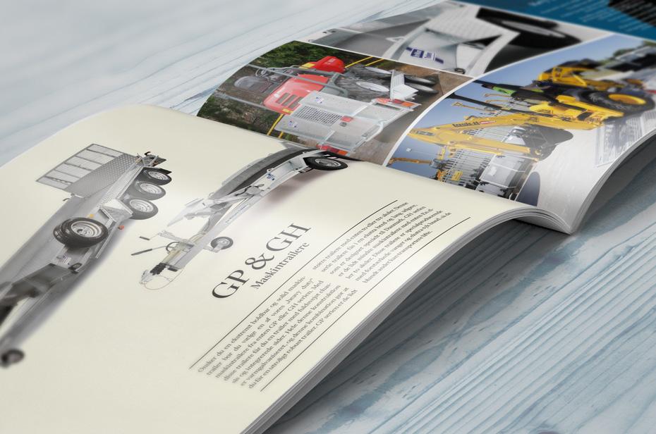 Erhvervstrailer brochure