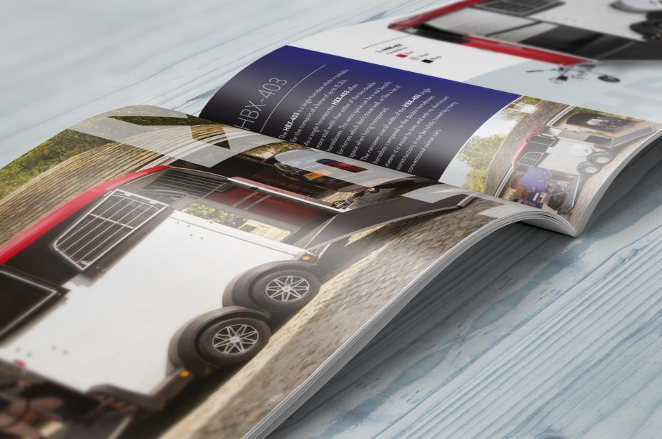 HBX & HBE hestetrailer brochure