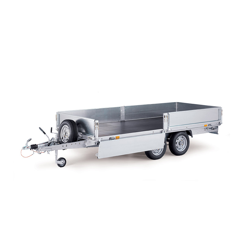 Ifor Williams EL142-2512 Eurolight Ladtrailer