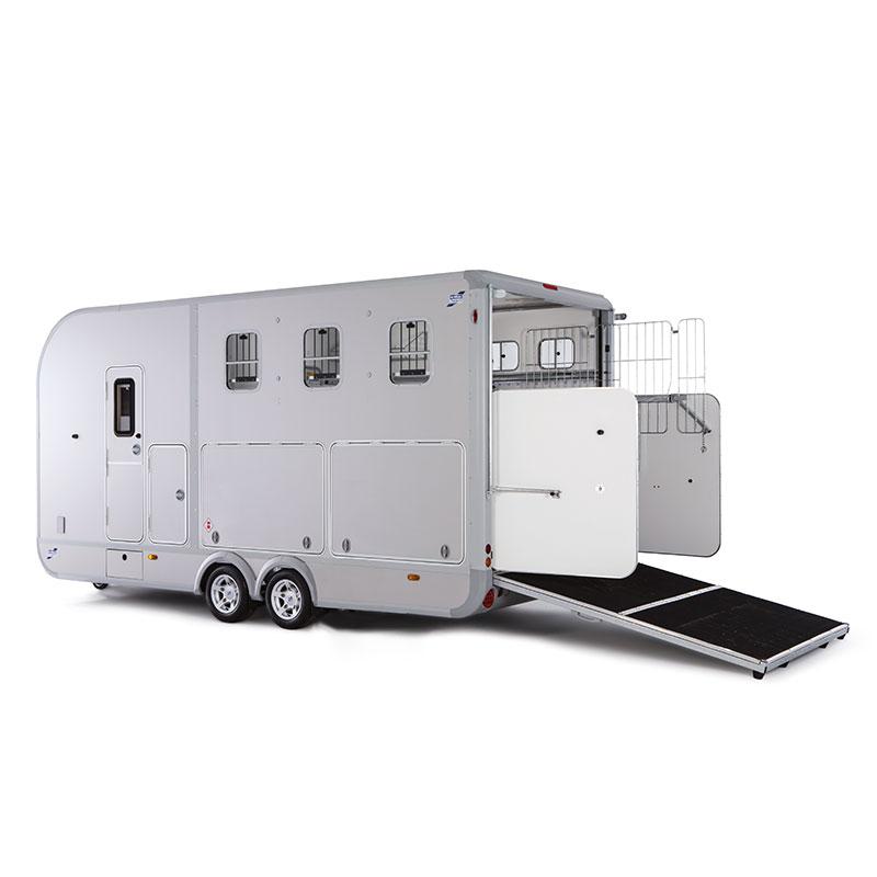 Ifor Williams Eventa L M/sidelocker Hestetrailer