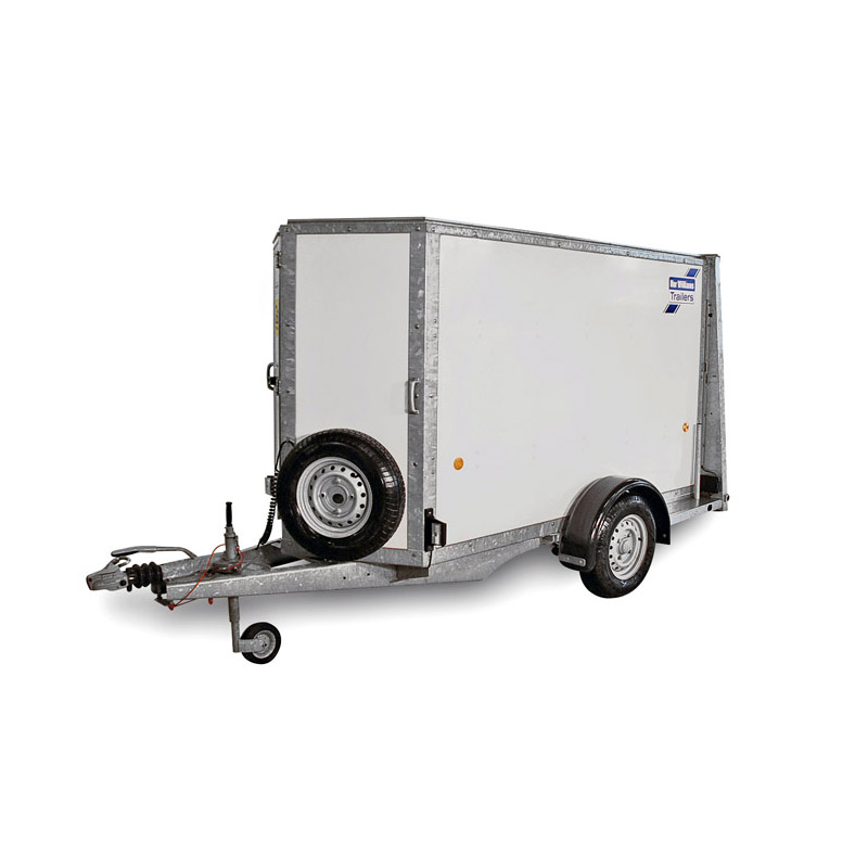 Ifor Williams BV84 – 1-akslet Kassetrailer