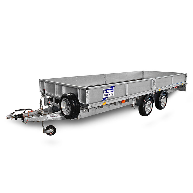 Ifor Williams LM166 Ladtrailer