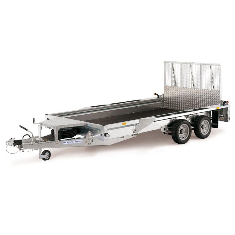 Ifor Williams GX125HD Maskintrailer