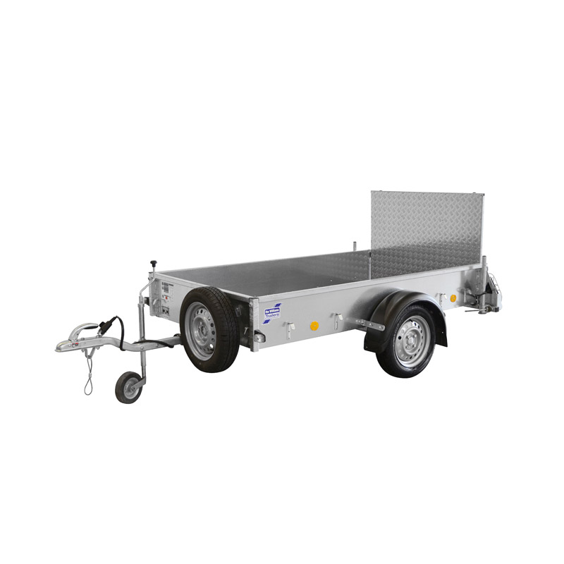 Ifor Williams P6E Ladtrailer