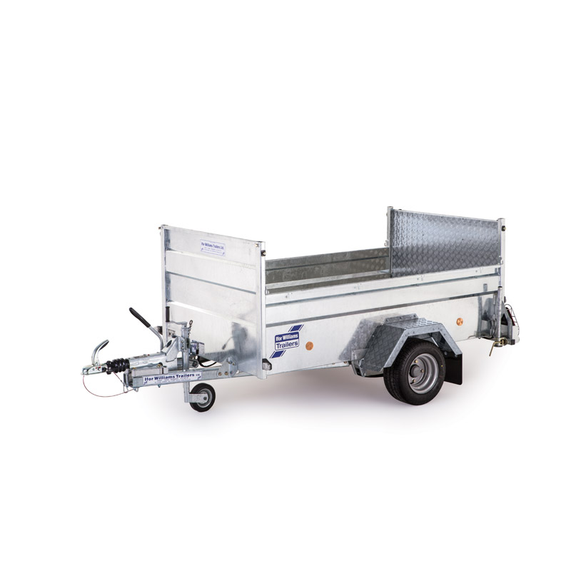 Ifor Williams Q6E On-Road Ladtrailer