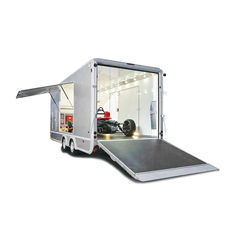Ifor Williams Transporta Lukket Autotrailer