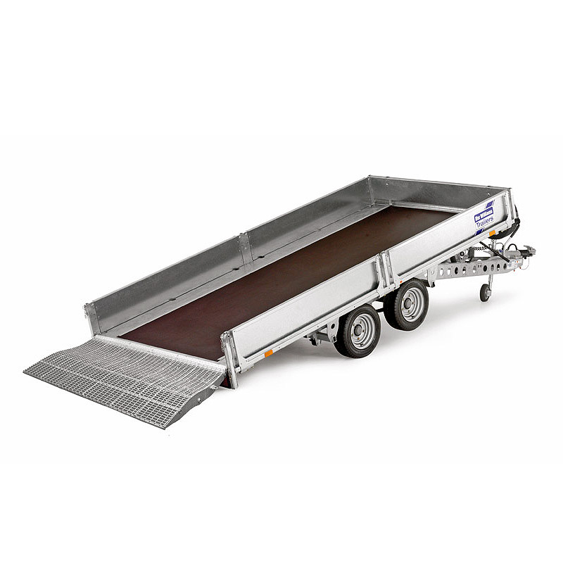 Ifor Williams TB4021-302 Vippeladstrailer