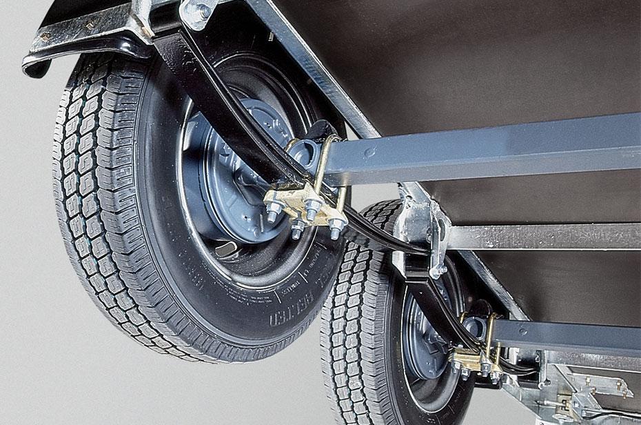 Komfortabel og sikker Paraflex undervogn